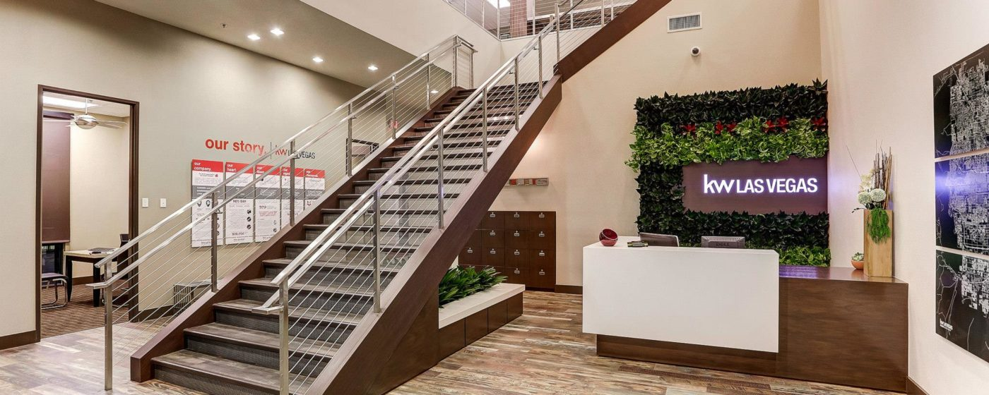 Wood Wrapped Steel Freestanding Stairway With Stainless Steel and Cables